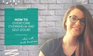 Thumbnail - showing overwhelm and self-doubt text