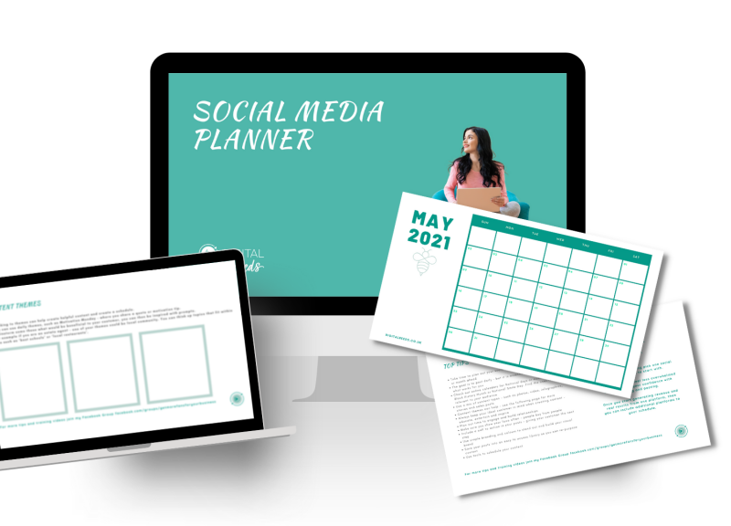 Download your free social media planner