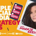 Simple social media strategy tips | Habitz Podcast