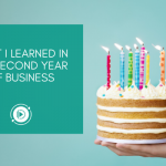What I learned in my second year of business | business journey